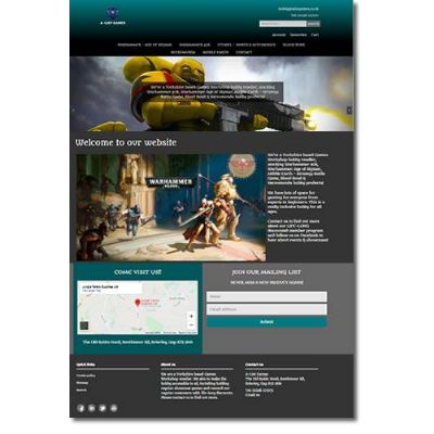 Ecommerce Website for Warhammer Products website - Matlock Web Design | 07901 870345